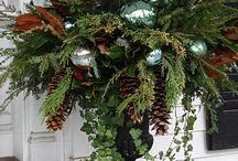 Christmas decor outside