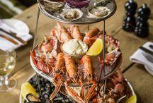 Plateaux de fruits de mer - Seafood platters / Les plus beaux plateaux de fruits de mer