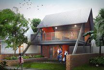 Posyandu Cemara / Programmatic : Commercial Location : Bandung , Indonesia   gubah ruang #gubahruang  www.gubahruang.com