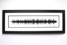 Wedding Songs Sound Wave Art / Wedding Song Ideas, Personalized Gifts for couples, newly weds, or for anniversaries.