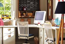 Creative Homework Spaces / Inspiring and fun homework and study rooms or areas