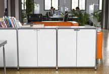 Moderne, flexible Büroeinrichtungen