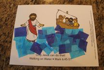swimming lessons biblestories