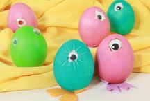 Easter decorations and crafts