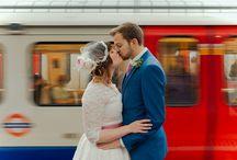 Emma & Chavez - The Barbican Wedding Photography / Emma & Chavez's creative wedding at the Barbican in London. An alternative, modern wedding with wedding photography by Blavou.