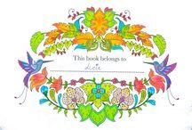 My colouring - Magical Jungle / Colouring book Magical Jungle, Johanna Basford