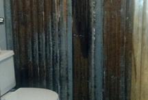 basement bathroom / by Kates