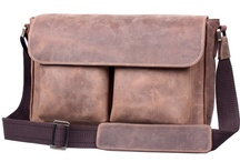 Leather Briefcase / Great leather briefcases and other stuff for Men / by Alexis Bhorjee