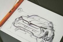 car sketch - exterior