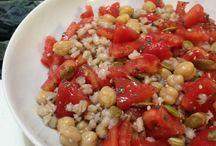 Orzo insalata