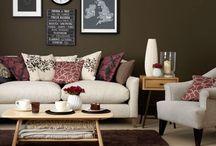Wohnideen in braun&beige / Brauntöne bringen viel Wärme ins Haus...