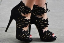 shoes and zebra.!