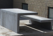 Urban Design / This board shows constructions and designs in UHPC - Ultra High Performance Concrete - for urban use.
