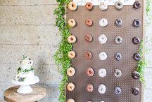 Donuts en tu boda