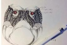 Jewelry Drawing and Design / by Beth Millner Jewelry
