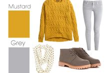 Fall Color Palette Challenge / Found this article on Buzzfeed pairing colors together to make fall wardrobes.  I am now challenging myself to use these palettes to creatively mix up my wardrobe.  #fallcolorpalettechallenge / by jamie murphy