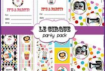 Free Party Printables  / by ALilsomething ToRemember