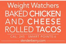 Weight Watchers Recipes / Weight Watchers meal recipes