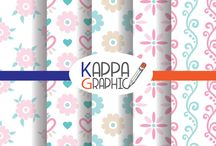 PATTERN DESIGN / pattern https://www.etsy.com/it/shop/KappaGraphic