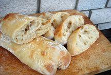 kenyér sütése