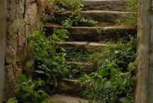Step Right Up Into My World / 'Cuz there's just something about stairways!