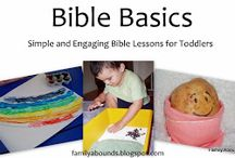 Toddler Bible Lessons / by Suzie Osterman