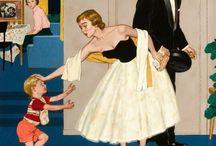 Amos Sewell. Illustrator Saturday Evening Post