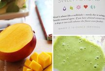 Cleaner healthier eating- smoothies/juices