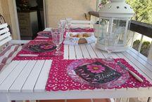 Decoración mesas.  A comer con glamour!! / Decoración mesas para todos los días y fiestas