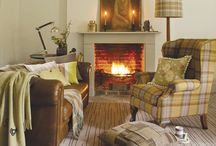 Wool and Tweed Interiors / Wool is a wonderful furnishing fabric and can be used to create beautiful and practical living spaces. www.coastandcountryfurnishings.co.uk / by Ruth Griffiths
