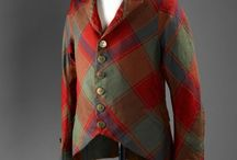 Gentlemen's 19th C tartan jackets
