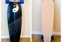 Xaraell's Longboards / Longboards custom airbrushed by Xaraell