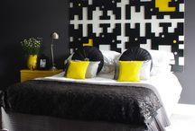 Yellow in decor