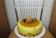 Moje tvoření / dort včelka