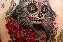 Skull Tattoos / Skull tattoos are becoming extremely famous body adornments on a lot of men and women tattoo lovers all over the globe. http://fabulousdesign.net/skull-tattoos-meanings/