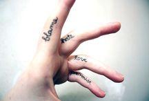 Finger Tattoos / 2015 Best Finger Tattoos