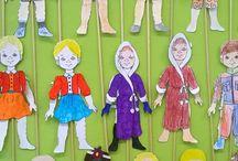 Öltöztető-babák   - Dressing dolls