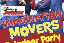 IMAGINATION MOVERS' REINDEER PARTY / The Imagination Movers are known for their catchy pop/rock music and zany antics on their Emmy award-winning series on Disney Junior. Their high energy, interactive holiday show, is sure to delight children and grown-ups alike! At The Newton Theatre 12/12/2015 at 1:00 and 4:00 pm. http://www.thenewtontheatre.com/event/31a15b1540d190cb961db67871c858d7