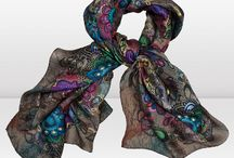 my obsession with scarves / by Deidra Parr (Hall)