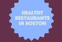 Healthy Restaurants in Boston / Healthy restaurants in the Boston area