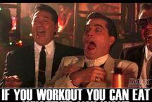 Gym, food and fitness
