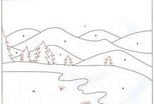 Landschaften - Quilt