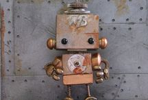 Metal, Rust & Steampunk Art