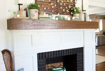 Mantels / by Angela @ Cottage Magpie
