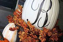 Fall treats and decoration ideas