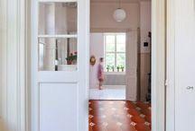 Cement tiles Hallway / Cement tiles Hallway