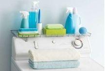 Laundry ideas / by PJ Wallis