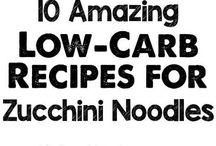 Zucchini noodle recipies