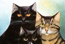 Cat Art ....... Cute and Funny 6