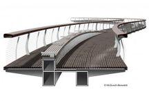 voetgangers bruggen